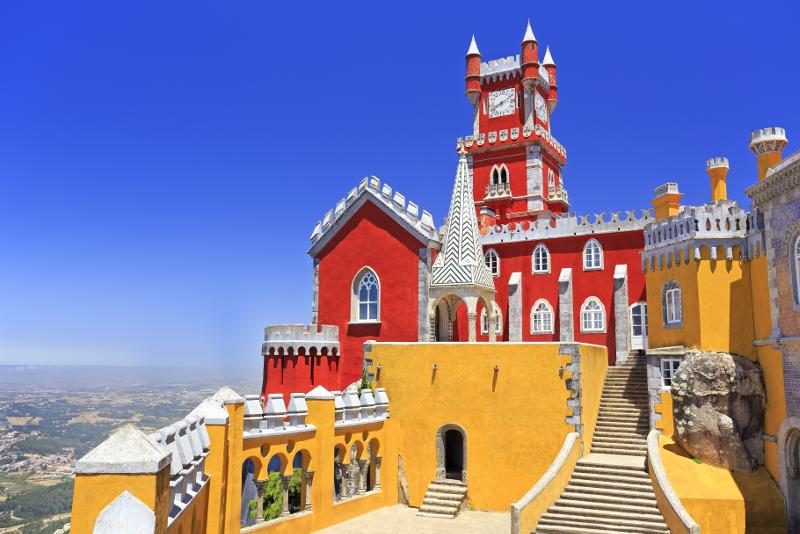 Pena Palace beste Reisezeit