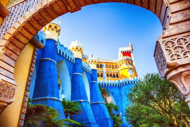 Pena Palace was zu sehen