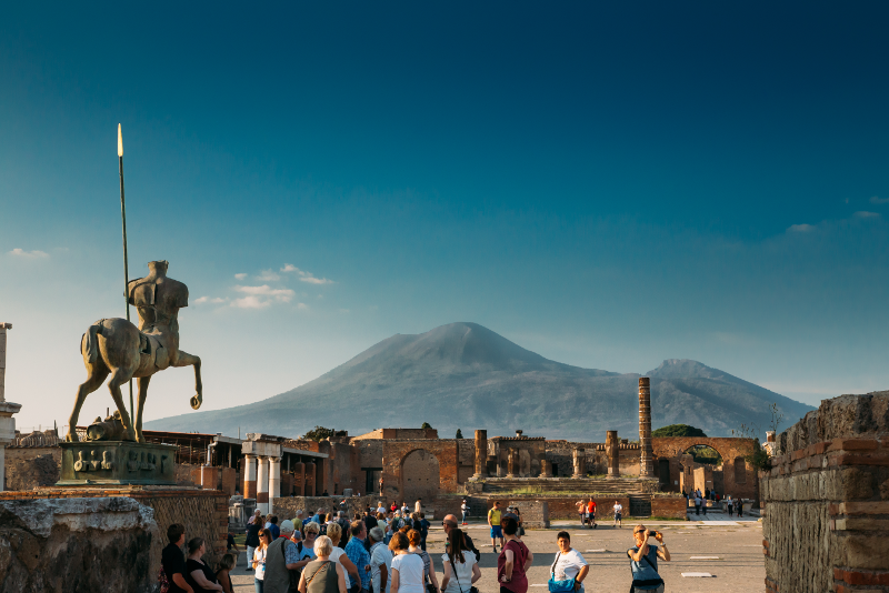 Pompeii guided tours