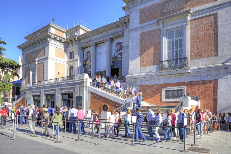 Réserver des billets coupe-file pour le Musée du Prado en ligne
