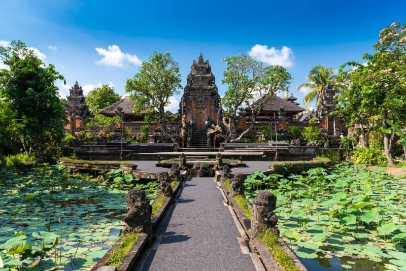 Pura Taman Saraswati Temple, Bali, Indonesia - #26 best places to visit in Central Bali