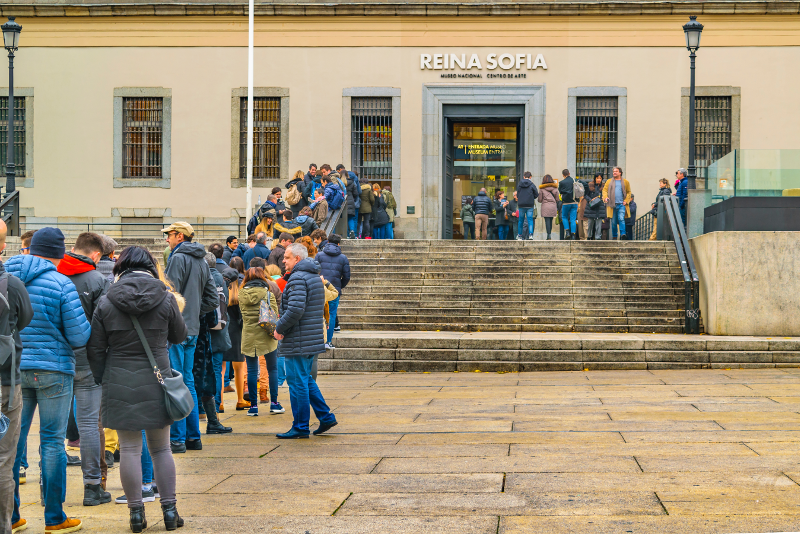 Skip the line at Reina Sofia Museum with advance tickets