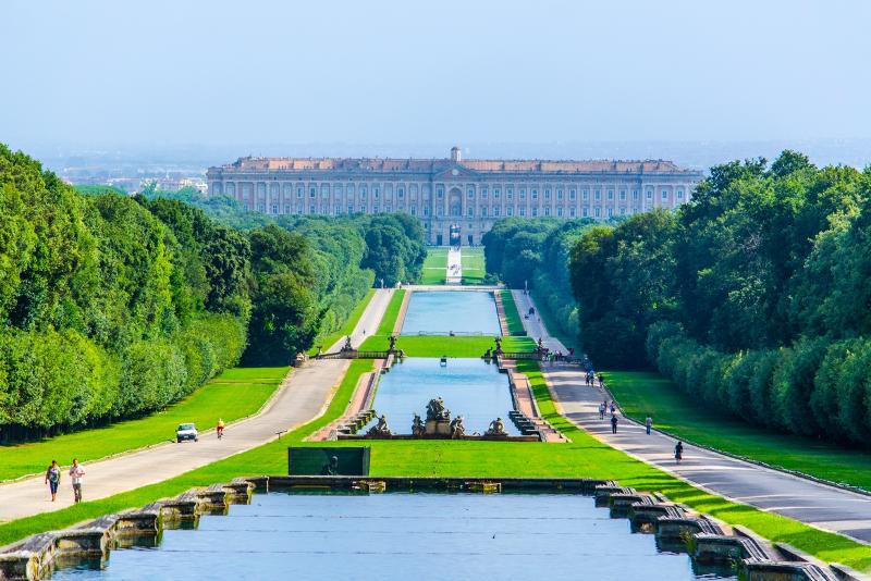 Palacio Real de Caserta excursiones de un día desde Nápoles