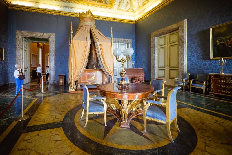 Visites guidées du Palais Royal de Caserte
