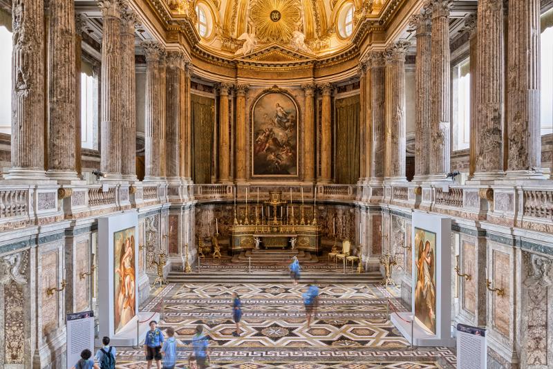 A decouvrir au Palais Royal de Caserte