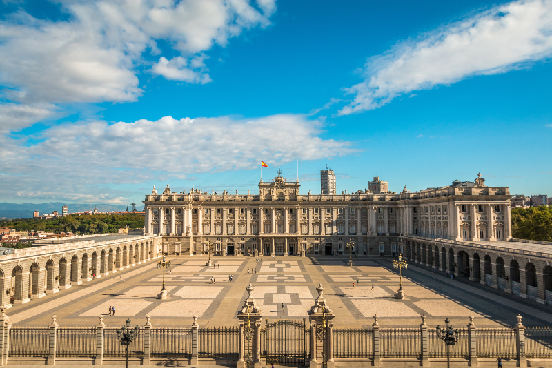 Royal Palace of Madrid guided tours