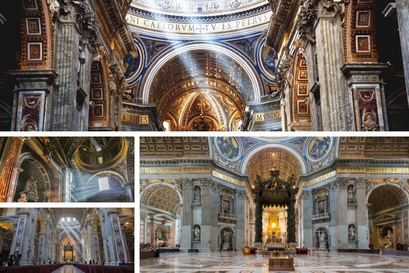 Basílica de São Pedro, o que ver