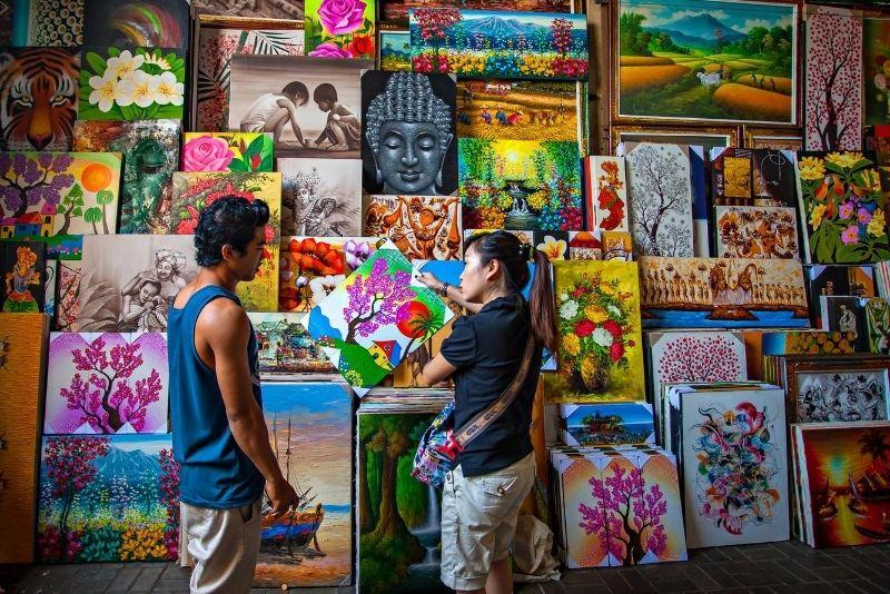 Sukawati Art Market, Bali, Indonesia - #11 best places to visit in South Bali