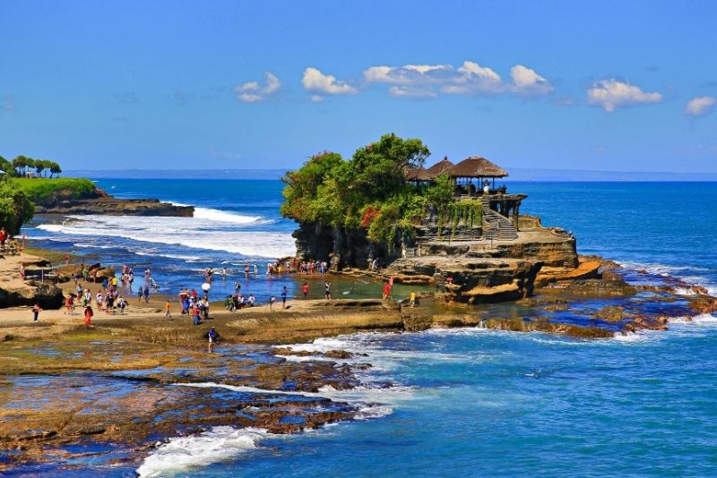 Tanah Lot Temple, Bali, Indonesia - #3 best places to visit in South Bali