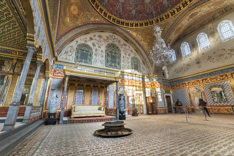 El mejor momento para visitar el Palacio de Topkapi.