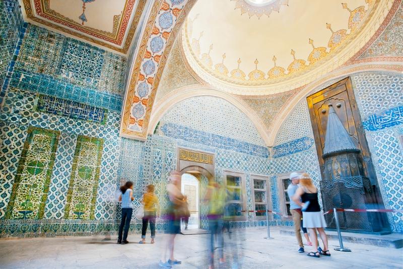 Visitas guiadas ao Palácio de Topkapi