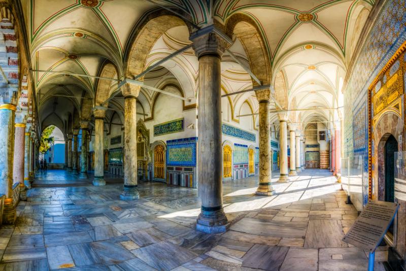 Topkapi Palast was zu sehen