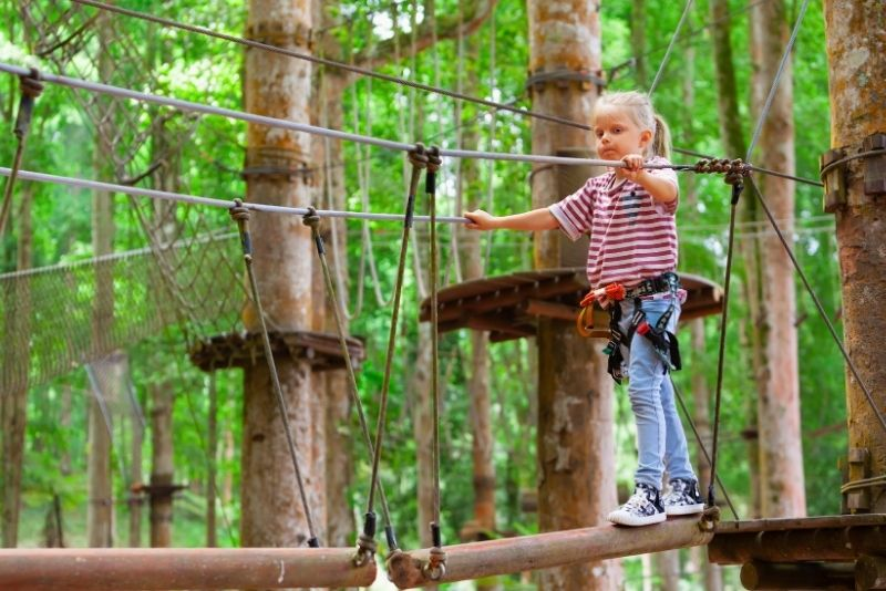 Treetop Adventure Park, Bali, Indonesia - #45 best places to visit in Central Bali