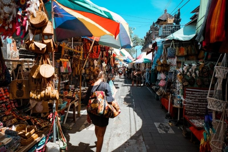 Ubud Art Market, Bali, Indonesia - #28 best places to visit in Central Bali