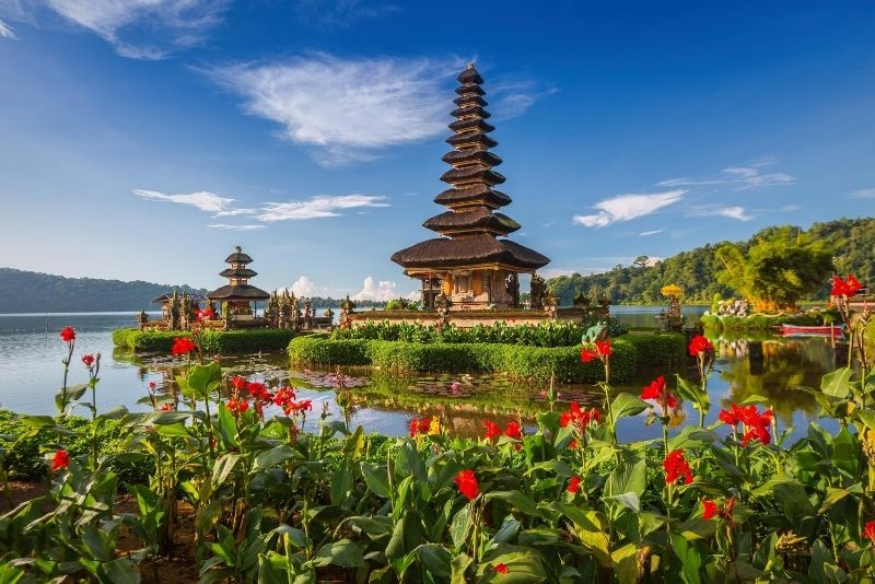 Ulun Danu Beratan Temple, Bali, Indonesia - #44 best places to visit in Central Bali