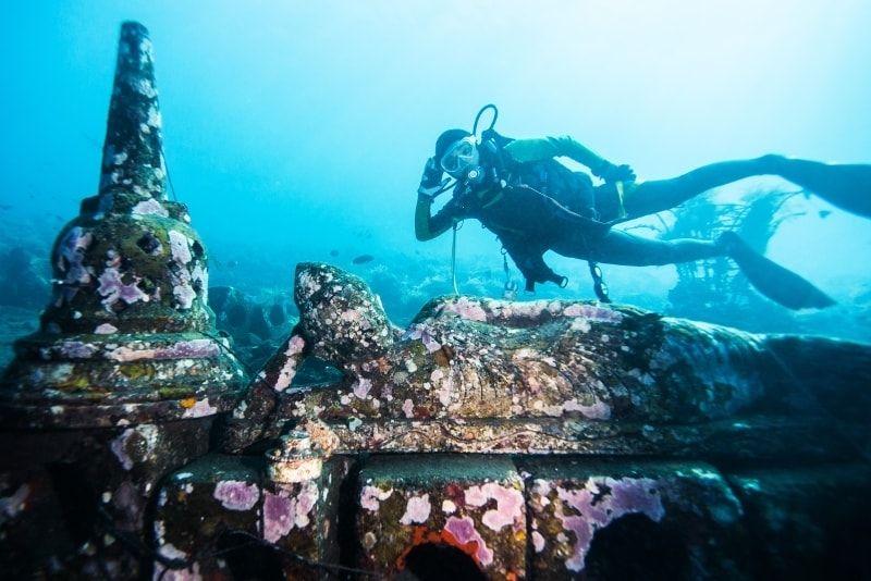 Underwater Temple Garden, Pemuteran, Bali, Indonesia - #53 best places to visit in West Bali