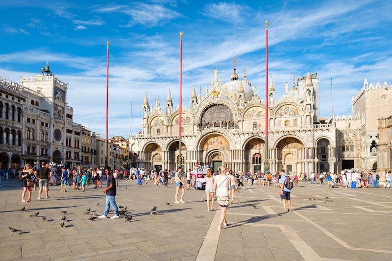 Basílica de San Marcos - Paseos en barco por Venecia