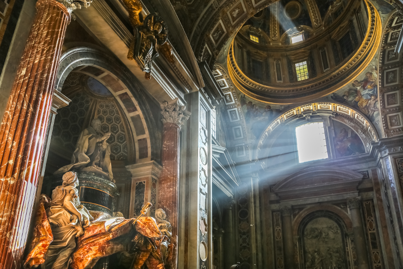 travel tips to visit St Peter's Basilica