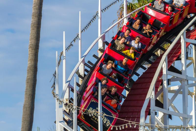 Belmont Park # 15 parcs d'attractions en Californie