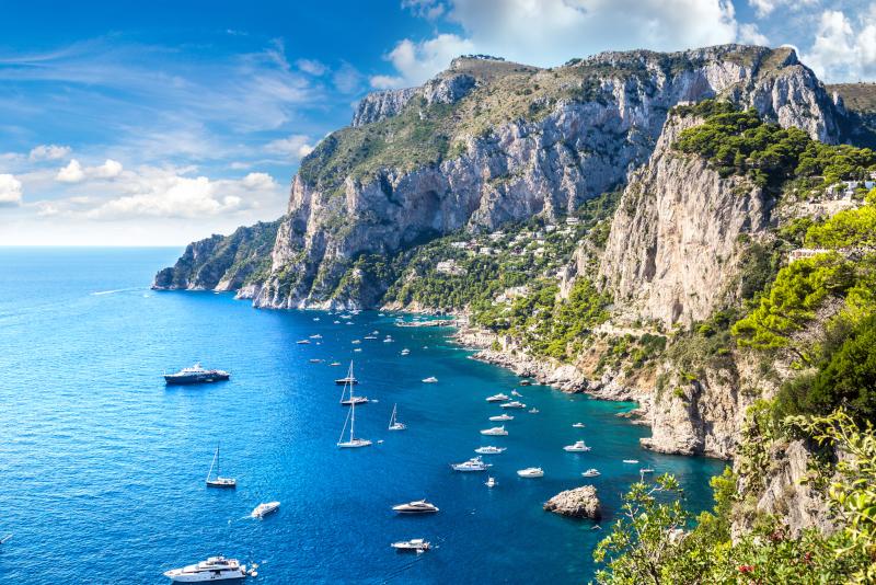 Capri excursiones de un día desde Nápoles