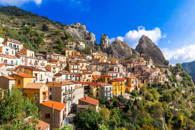 Tagesausflüge nach Castelmezzano ab Neapel