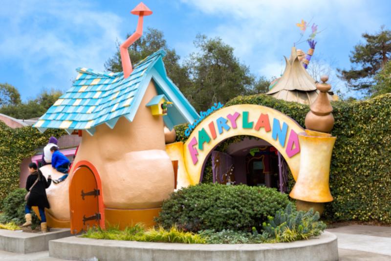 Parcs d'attraction pour enfants Fairyland # 19 en Californie