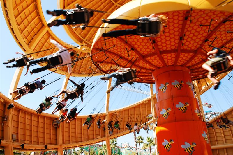 Disney's California Adventure Park # 7 parcs d'attractions en Californie