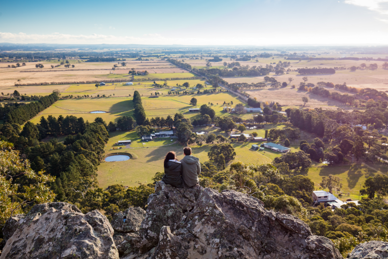 Hanging Rock day trips from Melbourne
