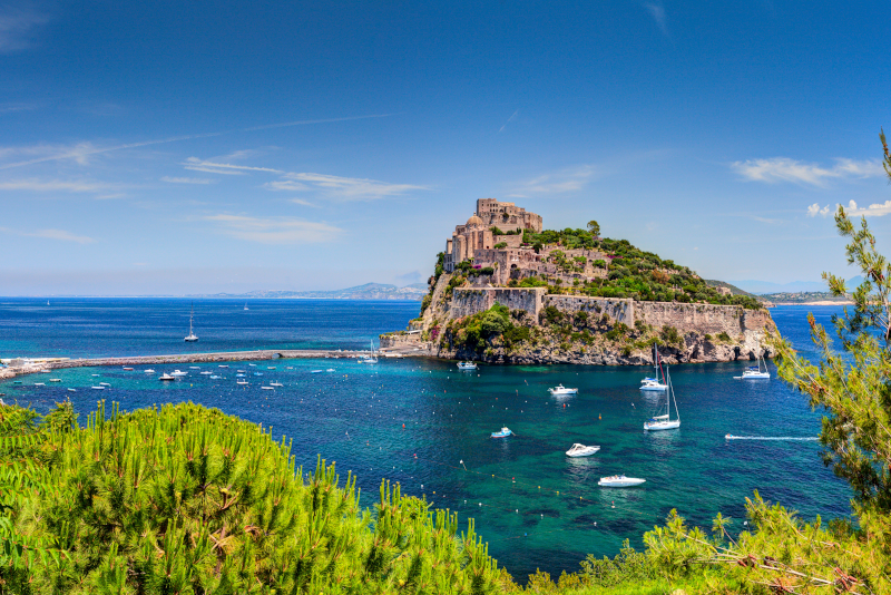 Ischia day trips from Naples