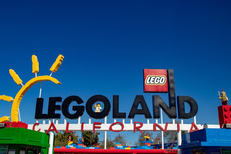 Legoland California # 11 parcs d'attractions en Californie