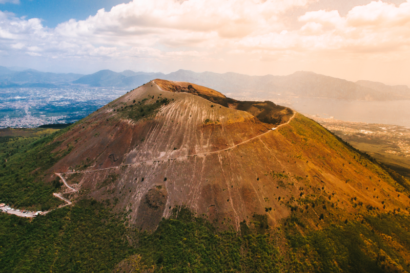 Mount Vesuvius day trips from Naples