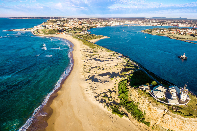 Newcastle day trips from Sydney