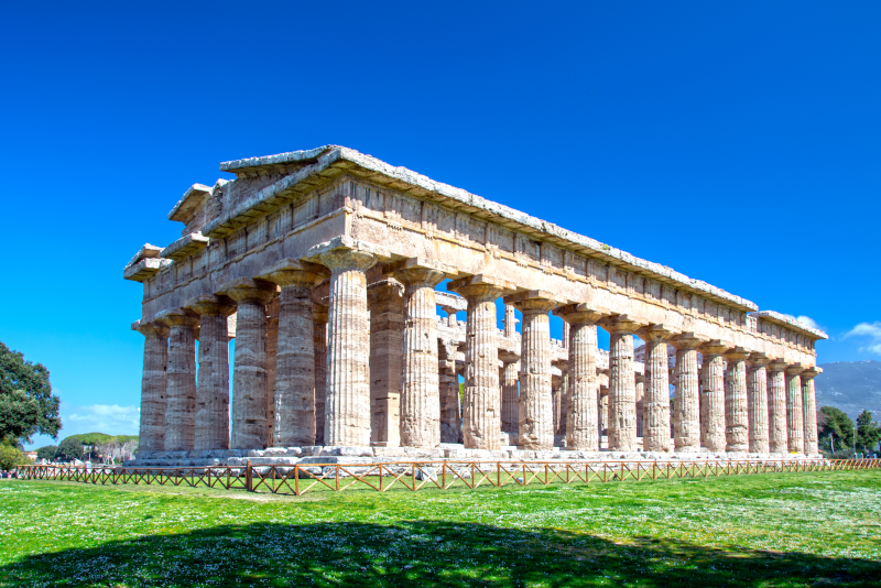 Paestum day trips from Naples