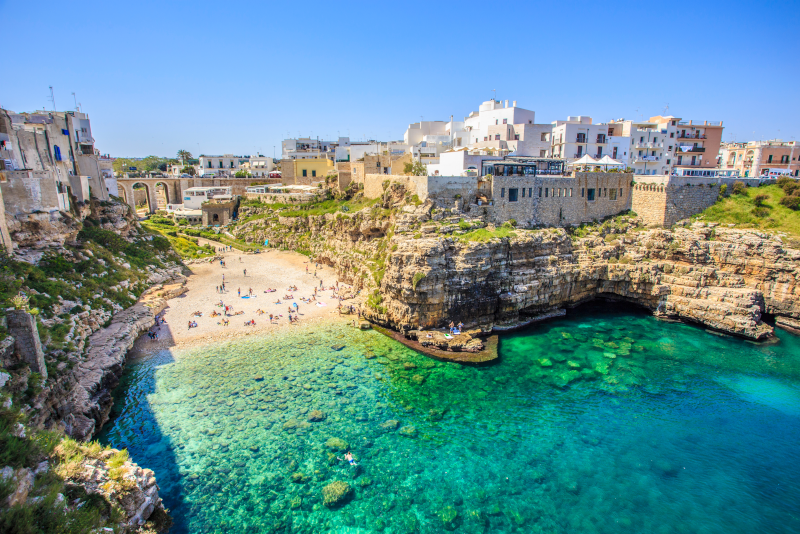 Polignano a Mare day trips from Naples
