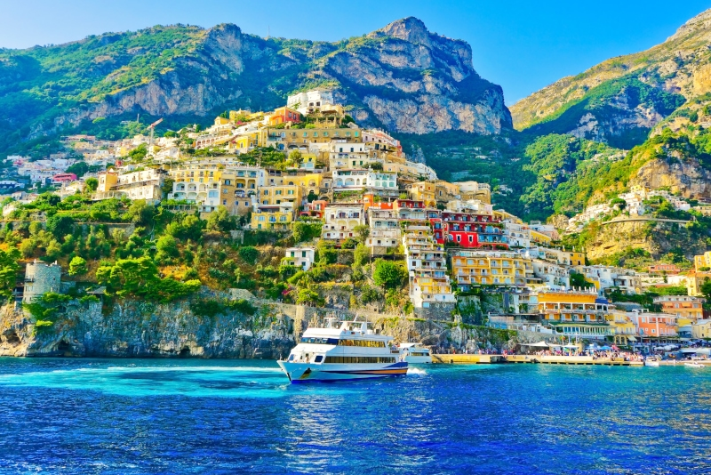 Positano day trips from Naples