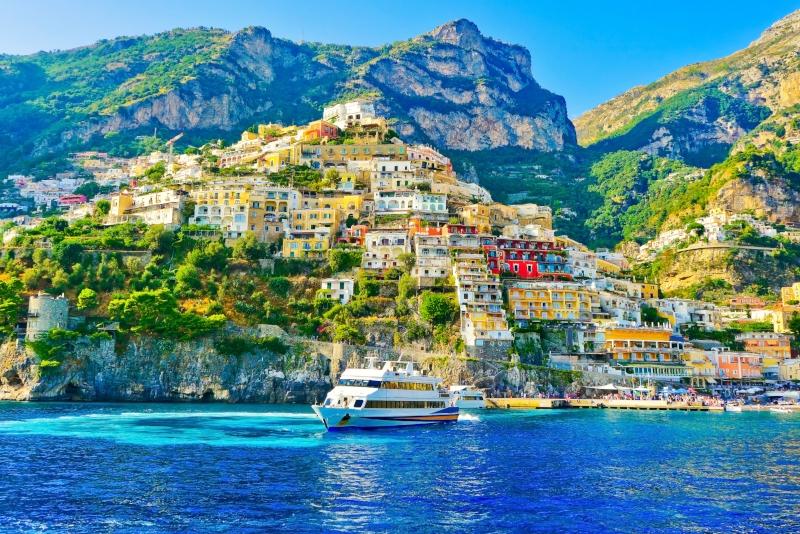 Gite di un giorno a Positano da Napoli