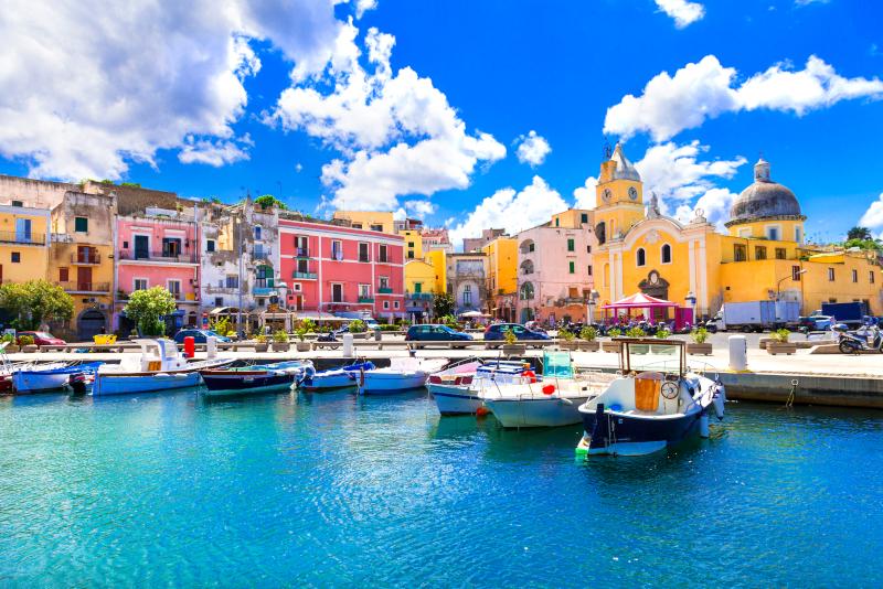 Procida excursiones de un día desde Nápoles