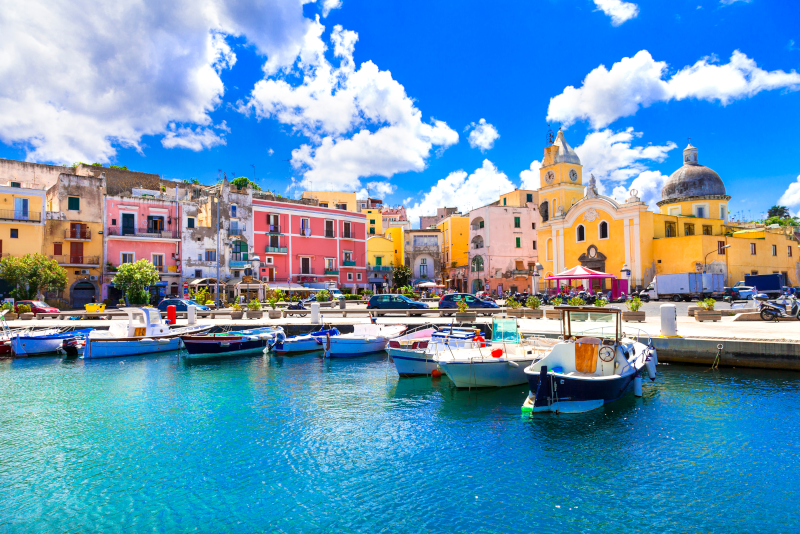 Procida day trips from Naples