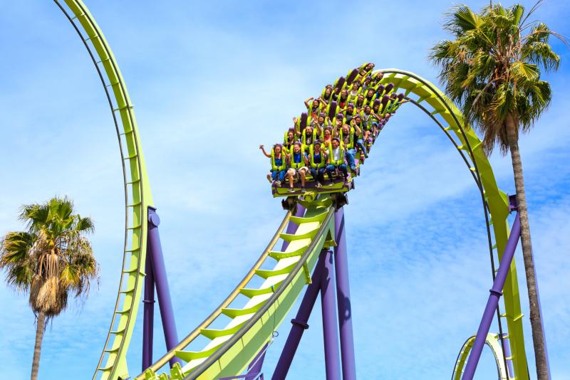 Parcs d'attraction Six Flags Discovery Kingdom # 27 en Californie