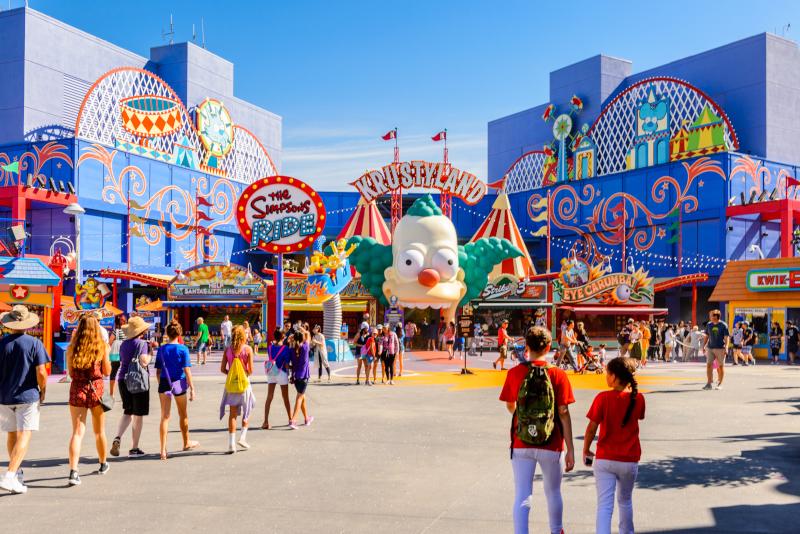 Universal Studios Hollywood # 1 parcs d'attraction en Californie
