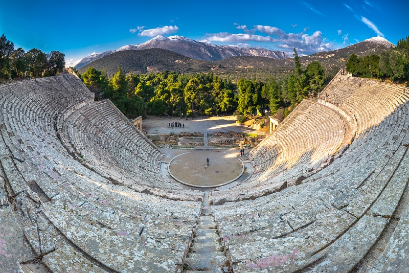 Epidaurus day trips from Athens