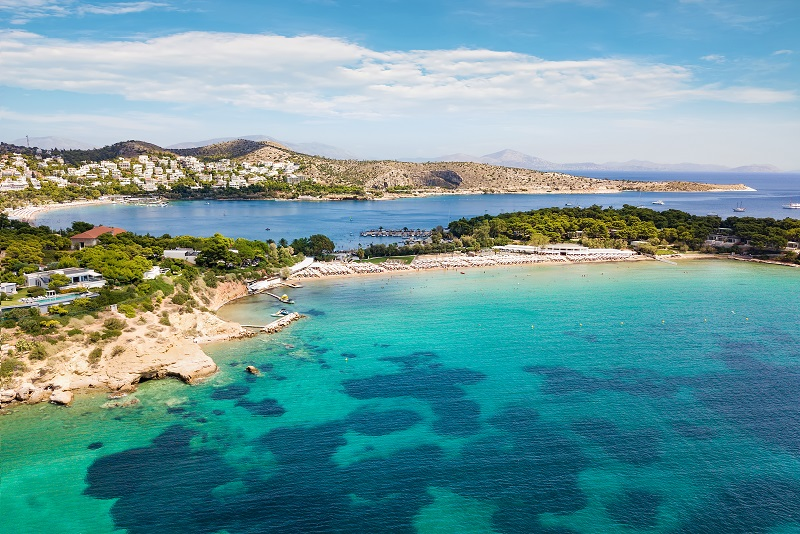 Glyfada day trips from Athens