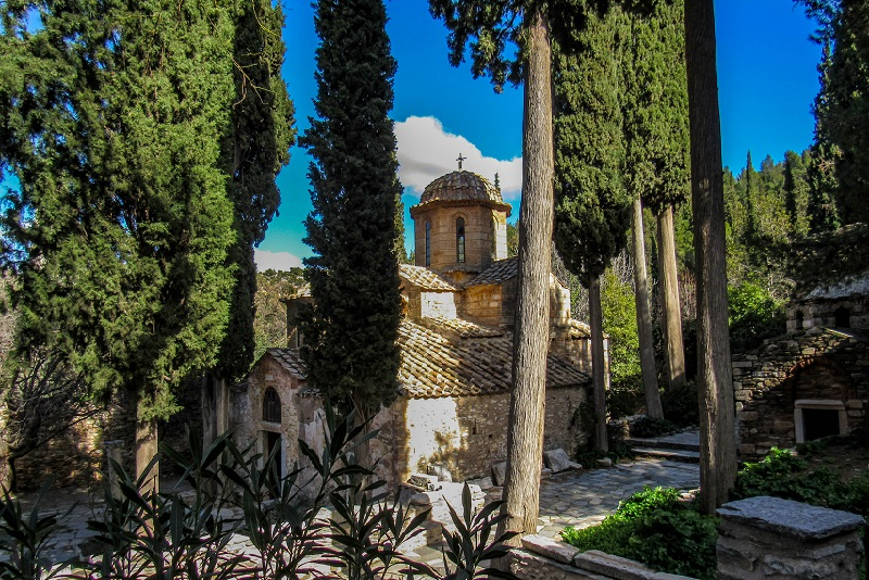 Kaisariani Monastery day trips from Athens