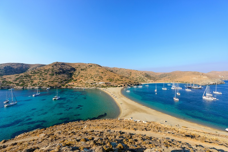Kythnos day trips from Athens