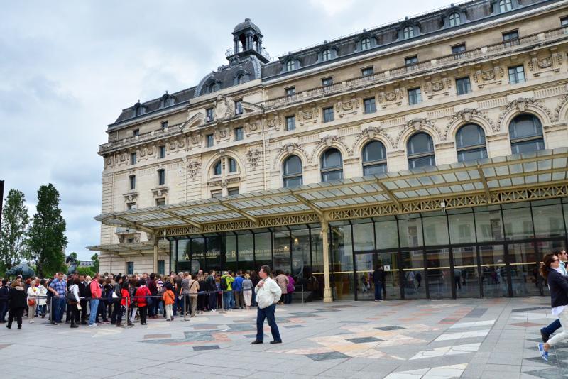 Musée d'Orsay saltar las entradas de línea