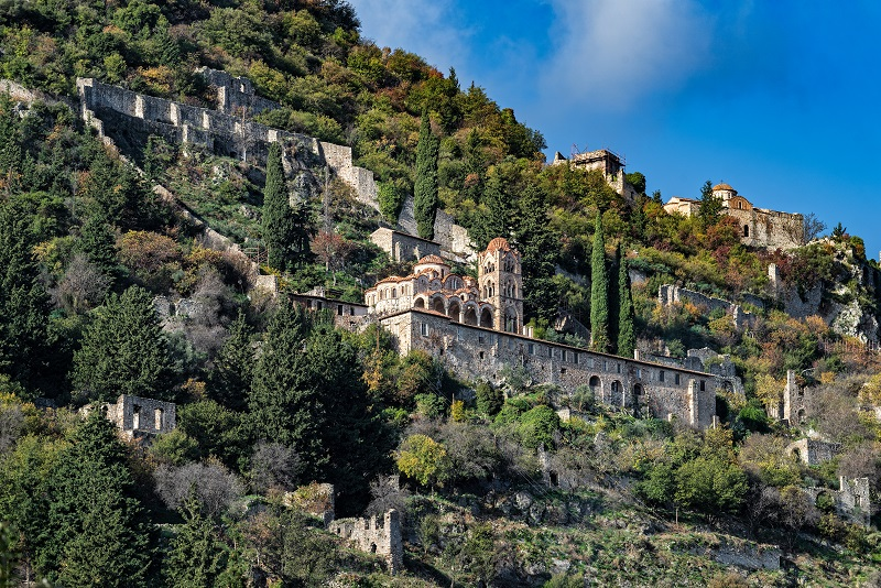 Mystras day trips from Athens