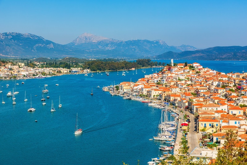 Poros day trips from Athens