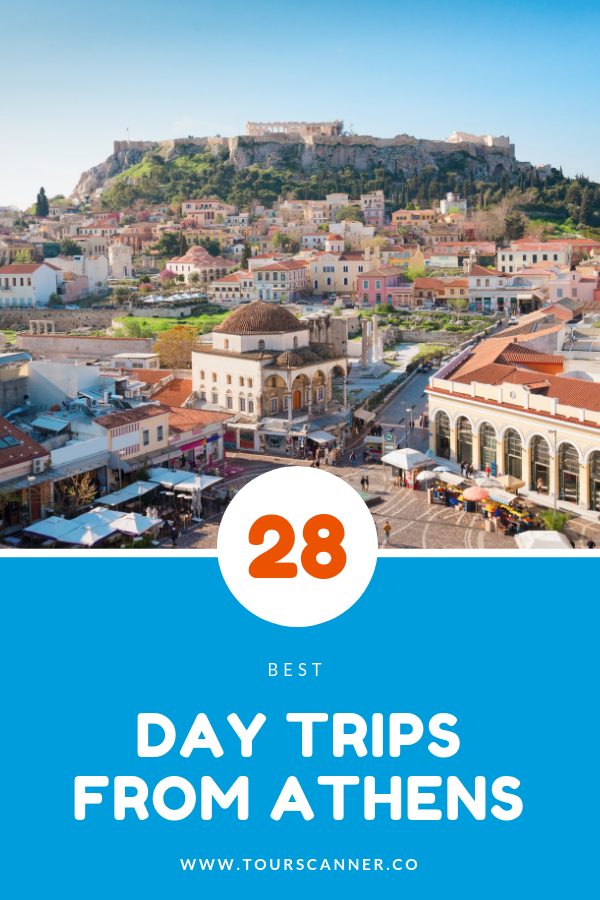 28 best day trips from Athens