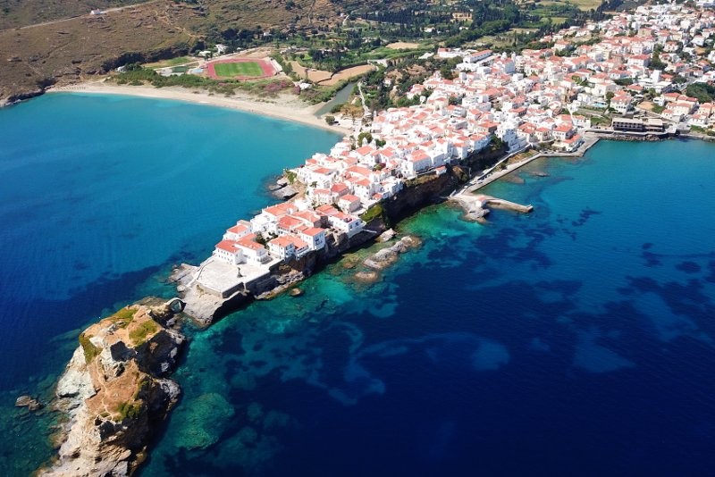 Andros day trips from Athens