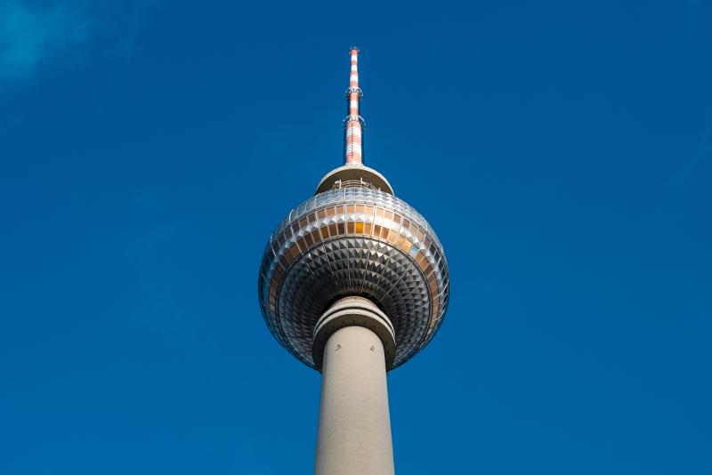 Horario de apertura de la torre de televisión de Berlín